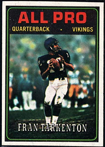 - Football NFL 1974 Topps #129 Fran Tarkenton AP Vikings