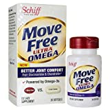 Move Free Ultra Omega Omega 3 Krill Oil, 30 Count ( Economy Pack of 3)
