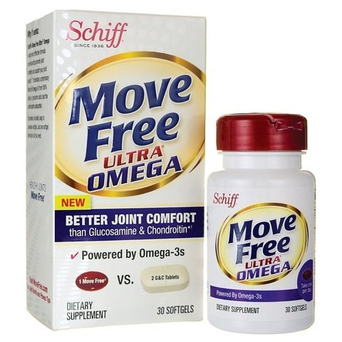 Move Free Ultra Omega Omega 3 Krill Oil, 30 Count ( Economy Pack of 3) by Move Free