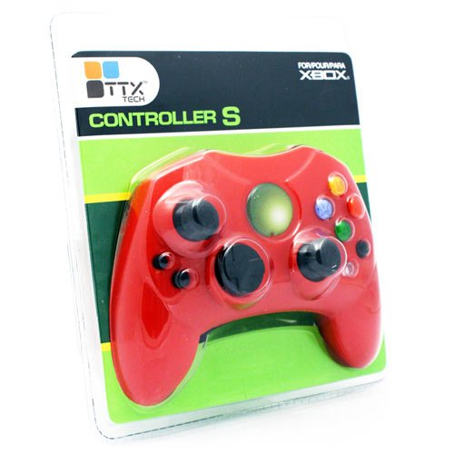 Cheap Original Xbox S Type Controller Red Limited Edition Red Color