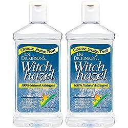 100% Natural, Witch Hazel 16 fl. oz., 2 Pack