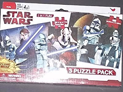Star Wars 3 Puzzle Pack