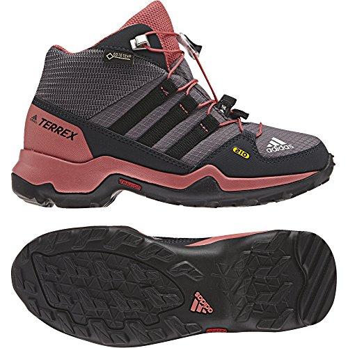 gritra Cross negbas Terrex Gris Mid Niños De Gtx Para gris rostac Unisex K Adidas Zapatillas 7pwqq