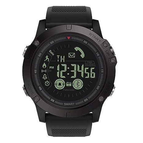 Reloj Inteligente Bluetooth de 5ATM, Relojes Inteligentes para Deportes al Aire Libre, Bluetooth con