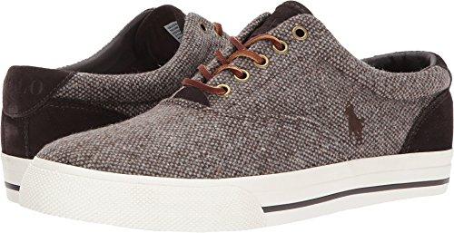 Polo Ralph Lauren Mens Vaughn Sneaker, Marrone, 13 Giorni