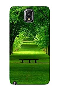 New Fashion Premium Tpu Case Cover For Galaxy Note 3 - Green Firest Case For New Year's Day's Gift