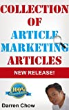 Collection of 30+ Article Marketing Articles