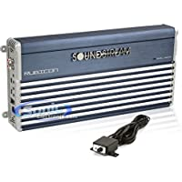 Soundstream RUB1.1600D Monoblock 1600 Watts RMS Class D Rubicon Series Amp Subwoofer Mono Block 1 Ohm Stable Amplifier with Remote Bass Boost Control Knob Included