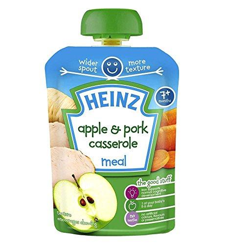 (Heinz 7+ Months Mashed Apple & Pork Casserole 130g)