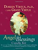 Angel Blessings Candle Kit, Doreen Virtue and Grant Virtue, 1401910734