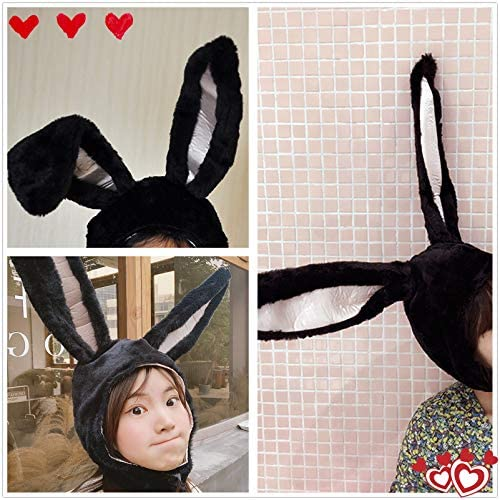 IUTOYYE Easter Bunny Hat Cute Rabbit Ears Costume Funny Party Favors Hats Easter Decorations (Rabbit)