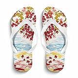 Non-Slip Flip Flop Slippers, Summer Beach Slim Thong Sandal Outdoor Casual Footwear
