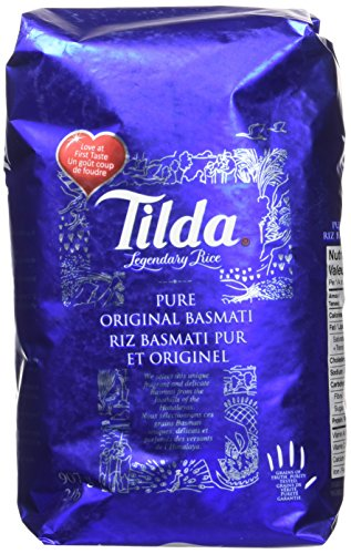 Pure Rice - Tilda Legendary Rice, Pure Original Basmati, 2 Pound
