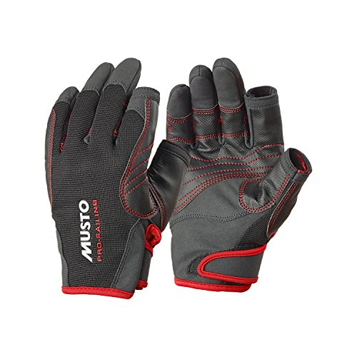 Musto Performance Long Finger Gloves BLACK AS0822