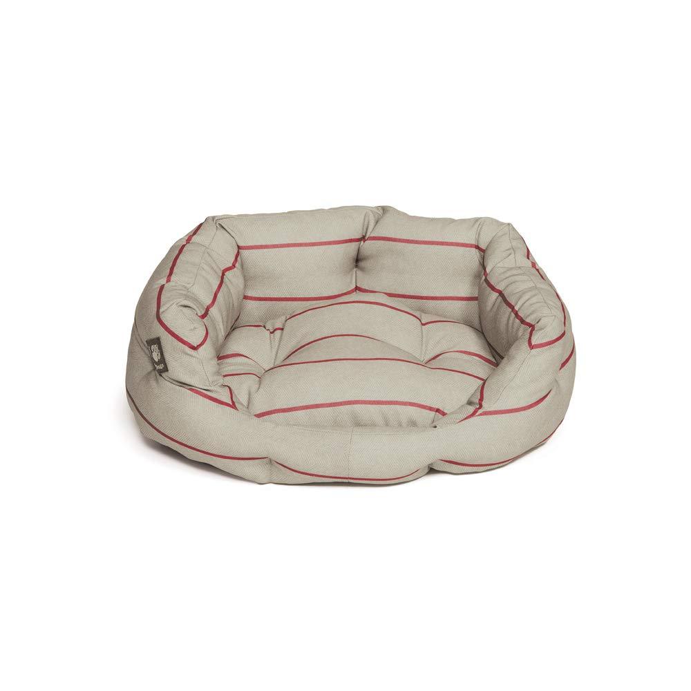 Danish Design Heritage Herringbone Deluxe Dog Slumber Bed Size  60.96 cm