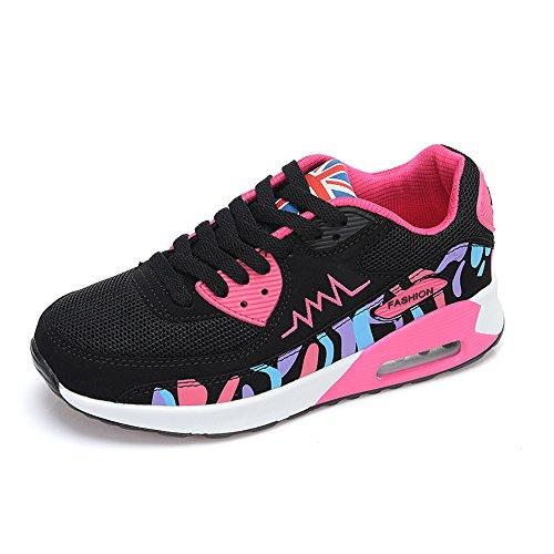 per Running Rosa Fitness Scarpe Assorbimento Corsa Palestra da House Da o Scarpe Sport Donna Nero Degli da Peggie urti xPgSvUYwg