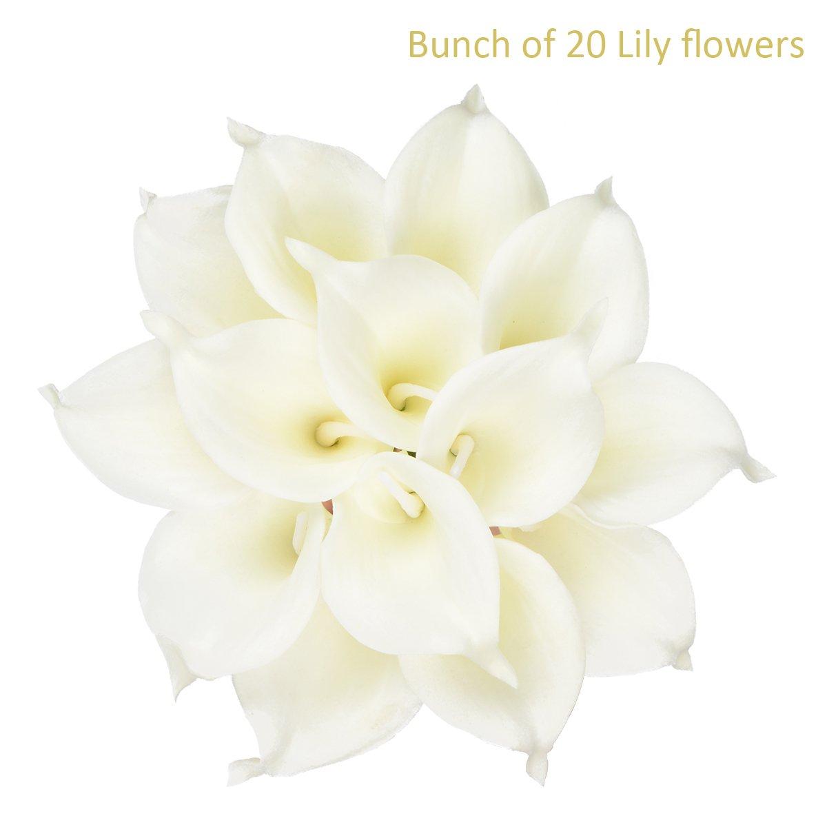 Amazon Hovebeaty Calla Lily Bridal Wedding Festival Decor