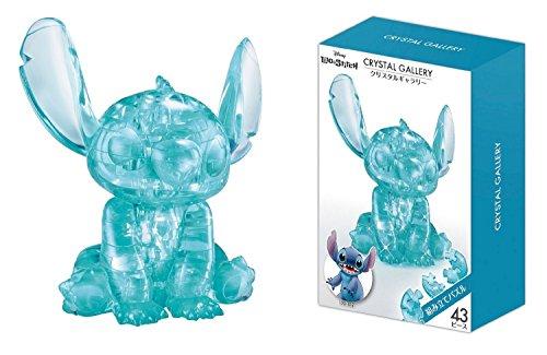 Hanayama Disney Crystal Gallery Hawaiian Blue Stitch 3D Puzzle (43 Piece)
