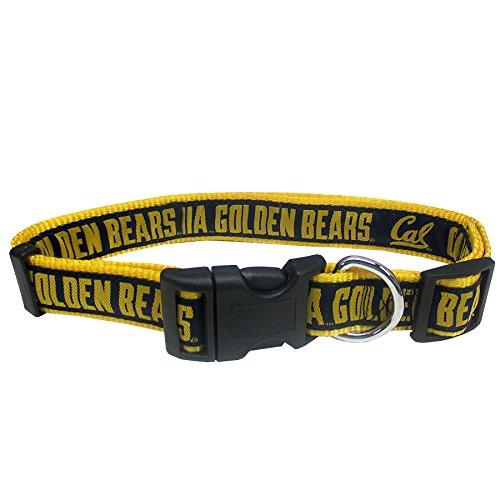 Pets First Collegiate Pet Accessories, Dog Collar, California Golden Bears, Medium ()