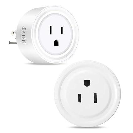Wifi Smart Plug Mini Smart Outlet Work With Alexa Google Home