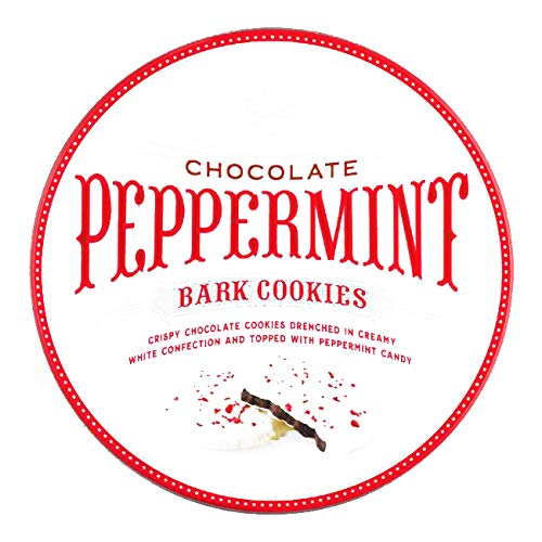 White Chocolate Peppermint Bark Cookies 17.8 oz each (2 Items Per Order, not per case) ()