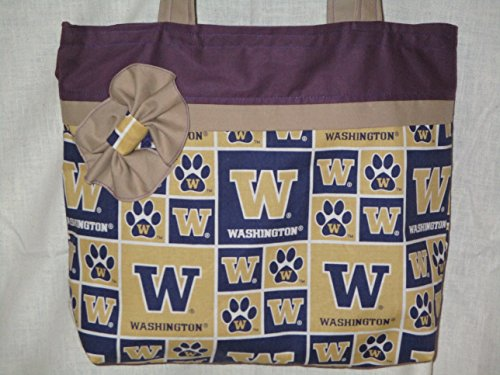 UNIVERSITY OF WASHINGTON STATE HUSKIES TOTE - State Shopping College