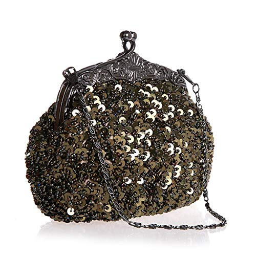 Evening Bag S Sparkle Sequin Clutch Purse Shiny Evening Purse Crossbody Bag With Chain Strap