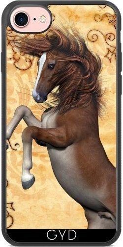 Coque Silicone pour Iphone 7 / Iphone 8 - Cheval Merveilleux by nicky2342
