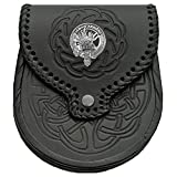 Douglas Scottish Clan Crest Badge Sporran