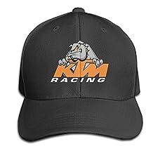 Preview KTM Racing Dad Cap Hats Adjustable Black Baseball Cap