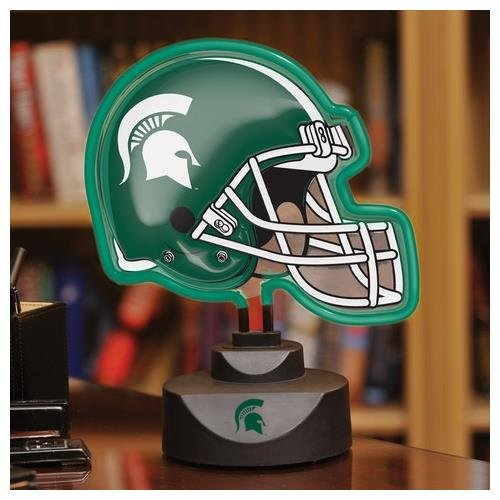 The Memory Company NCAA Michigan State Neon Helmet by The Memory Company