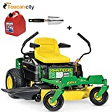 Cheap Toucan City Gas Can with 3″ Softouch Hand Trowel and John Deere Z355E 48 in. 22 HP Gas Dual Hydrostatic Zero-Turn Riding Mower-California Compliant BG21045