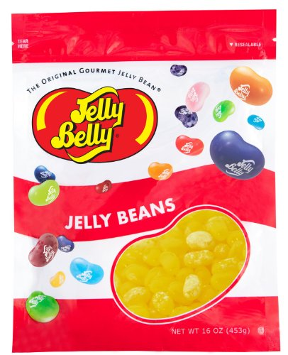 Beans Drop Lemon Jelly - Jelly Belly Lemon Drop Jelly Beans - One Pound (16 oz) Resealable Bag - Genuine, Official, Straight from the Source