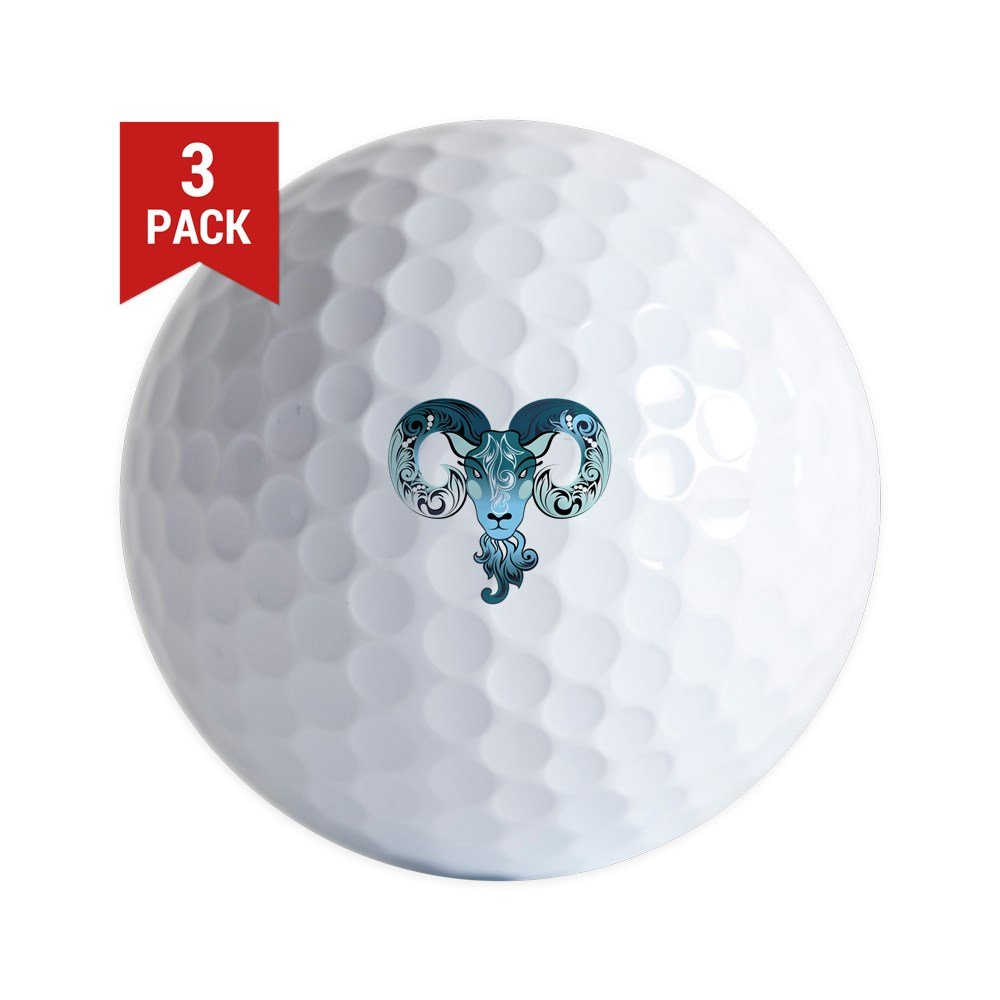 Golf Balls ( Set of 3 )新しい年Goat 2015 B06XQJD5P2