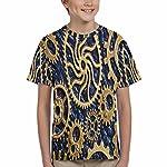 INTERESTPRINT Kid's T-Shirts Steampunk Mechanical Cogs Gears Wheels (XS-XL) 8
