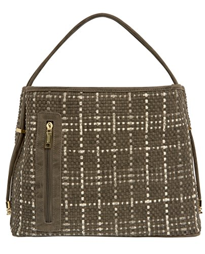 samoe-style-umber-brown-cream-woven-plaid-convertible-tote