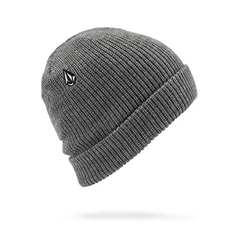 Volcom Men's Full Stone Beanie, Heather Grey, One Size Fits ()