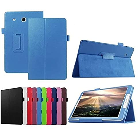 Galaxy Tab E 8.0 Case, Asstar [Stand Feature] New Style Premium Folio Leather Defender Protective Case Cover for Samsung Galaxy Tab E 8.0 Inch SM-T377 4G LTE Verizon / Sprint Tablet (Galaxy 4g Lte Tablet)