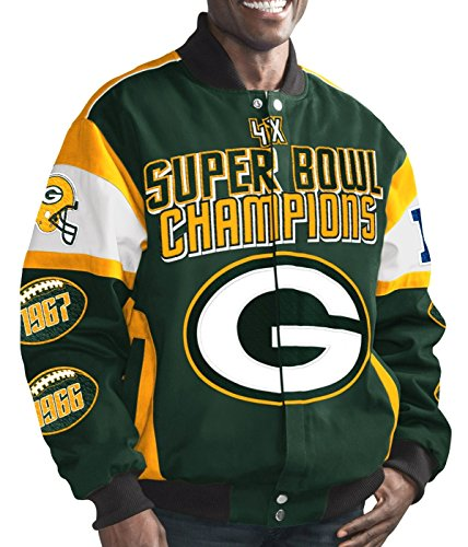 L G-III Super Bowl Cotton Twill Commemorative Jacket (Twill Championship Jacket)