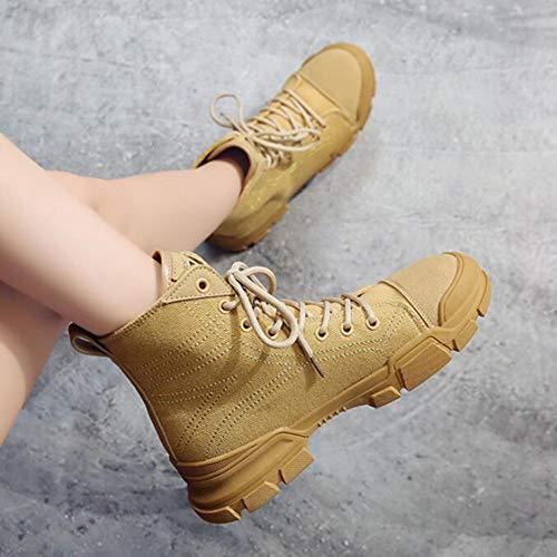 Zapatos fantasía de EU39 de 5 de de CN40 Plataforma Zapatos Hip Lona Mujer Alto de FH Zapatos UK6 Size Baile Casuales Hop Yellow de Color Tw0qgOxn1d