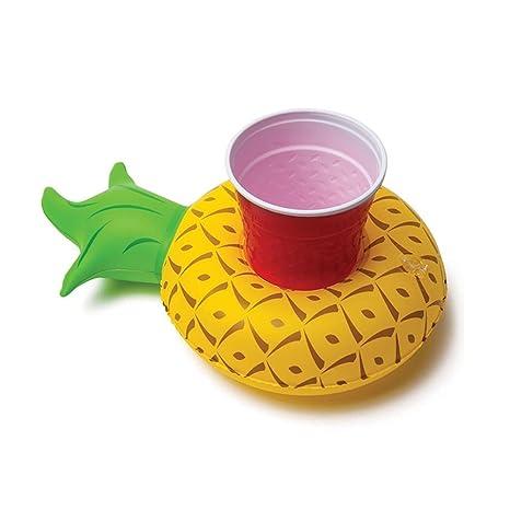 WLZP Juguetes Flotantes Inflables, Piña Posavasos para Piscina Juguetes de baño para Piscina Fiesta Playa