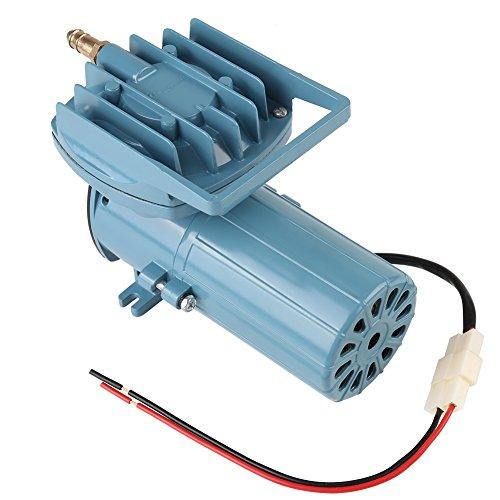 Aquarium Air Pump, DC 12V 35W Fish Tank Oxygen Pump Aerator for Fish Pond Aquaculture Aquarium Accessory Tool, 8.6 x 4.3 x 5.5 Inch