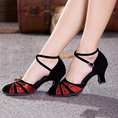 Shoes Ballroom Dancing Square Size YIXINYI High International Adult Shoes UK6 Color Shoe EU39 Dance Heels Dancing Women's Modern CN39 Court Latin 3 3 Shoes qwxtaH6xIC