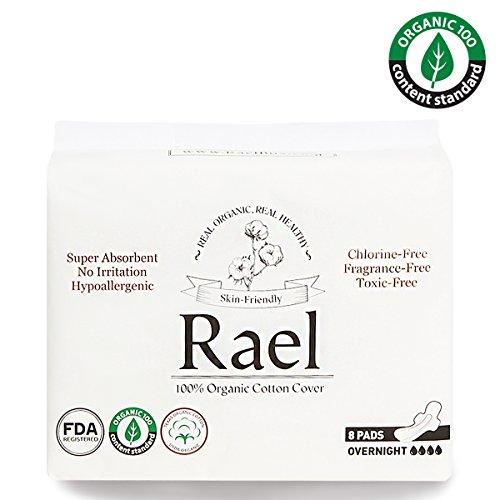 best postpartum pads - rael
