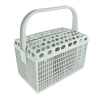 IKEA – Cesta de cubiertos para lavavajillas (plástico Jaula rack (luz gris)