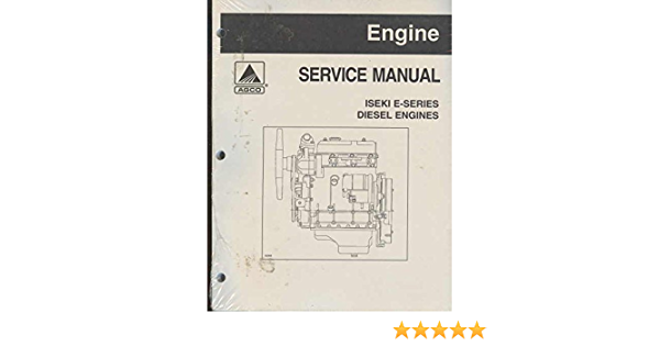 Amazon.com: Iseki E Series Diesel Engine Service Repair Overhaul Manual on  Cd: Everything ElseAmazon.com