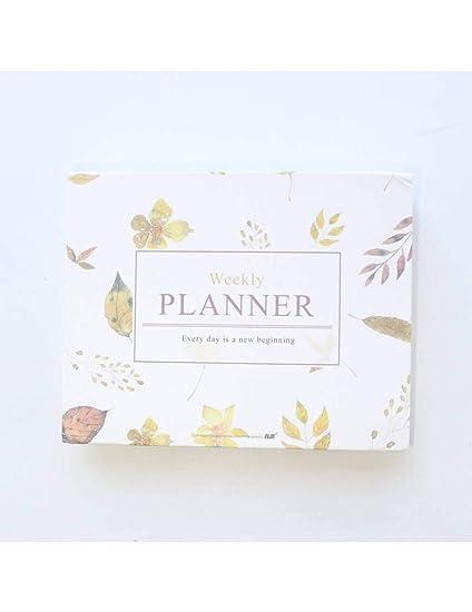 QGHJ Espiral Agenda Planificador Organizador ...