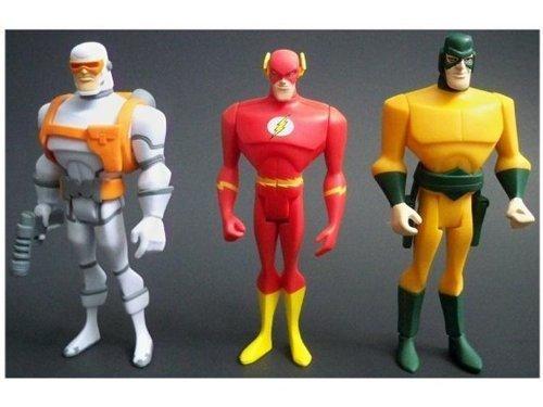 (DC Universe Justice League Unlimited Heatwave, The Flash & Mirror Master Action Figures)