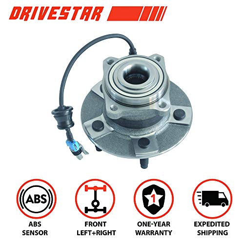 Brand New DRIVESTAR 512229 New REAR Wheel Hub & Bearing w/ABS for Equinox Torrent Vue Hybrid
