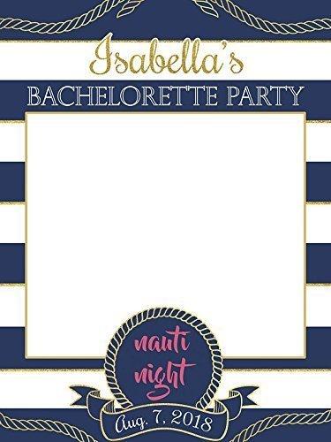 Custom Bachelorette Photo Booth Prop Girls Decorations Girls Reunion Party Size 24x36 48x36 Bachelorette Party Decoration Bachelor Party